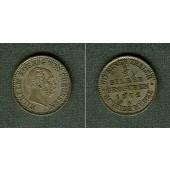Preussen 1/2 Silber Groschen 1872 A  vz-