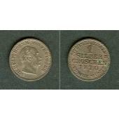 Preussen 1 Silber Groschen 1870 B  vz+