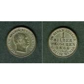 Preussen 1 Silber Groschen 1866 A  vz