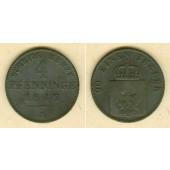 Preussen 4 Pfenninge 1847 A  f.ss/s-ss  selten!