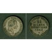 Preussen 2 1/2 Silber Groschen 1843 A  ss