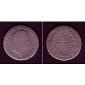 Preussen 1/6 Taler 1814 A  s/ss