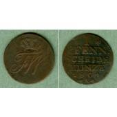Preussen 1 Pfenning 1804 A  f.ss