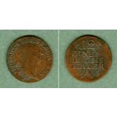 Preussen 1/12 Taler 1766 A  FALSCHMÜNZE  f.vz  selten!