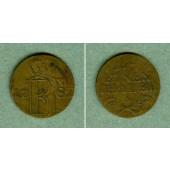 Preussen 1/24 Taler 1782 A  FALSCHMÜNZE  ss  selten!