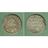 Preussen 1/12 Taler 1752 C  ss