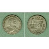 Preussen 1/12 Taler 1752 A  ss+  selten!