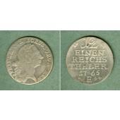 Preussen 1/12 Taler 1765 E  ss+