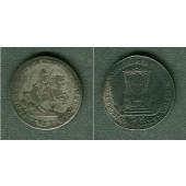 Sachsen 1/12 Taler (Doppel-Groschen) 1741 VICARIAT ss