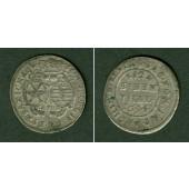 Sachsen 1/12 Taler (Doppel-Groschen) 1694 EPH  ss-vz