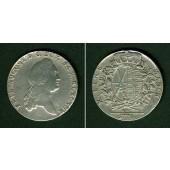 Sachsen Taler 1776 EDC  ss-vz