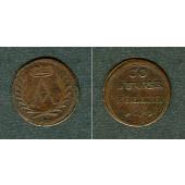 Sachsen Coburg 1 Heller 1693  ss