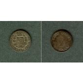 Sachsen Coburg und Gotha 3 Kreuzer 1834  ss