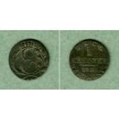 Sachsen Coburg und Gotha 1 Kreuzer 1830 EK  ss  selten!
