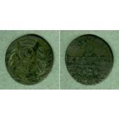Sachsen Coburg und Gotha 6 Kreuzer 1828 EK  s  selten