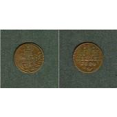 Sachsen Hildburghausen 1 Heller 1804  ss+