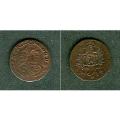 Sachsen Hildburghausen 1 Kreuzer 1758  ss  selten!