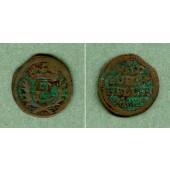 Sachsen Hildburghausen 1 Heller 1712  s+  seltener