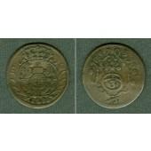 Sachsen 3 Pfennig / Dreier 1703 ILH  ss  selten