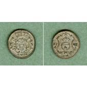 Sachsen 1 Pfennig 1747 FwoF  vz