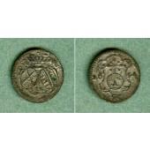 Sachsen 1 Pfennig 1694 IK  ss-vz