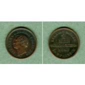 Sachsen 1 Neugroschen (10 Pfennige) 1868 B  vz