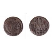 Sachsen 1/48 Taler 1806  f.ss