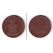 Sachsen 3 Pfennige 1832 S  ss+  selten
