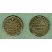 Sachsen Meiningen 3 Kreuzer 1832 L  f.ss