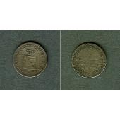 Sachsen Weimar und Eisenach 1 Groschen 1840 A  f.ss