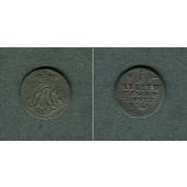 Sachsen Weimar und Eisenach 1 Heller 1756  s-ss/ss