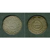 Sachsen Weimar 1/24 Taler (Groschen) 1637 DW  f.vz