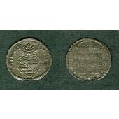 Sachsen Weimar 3 Pfennige / Spruchdreier 1651  ss/s