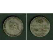 Sachsen Weimar Eisenach Medaille 3. Jubelfest 1817  ss-vz
