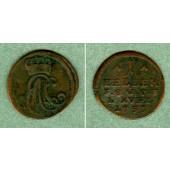 Sachsen Weimar und Eisenach 1 Heller 1757  f.ss