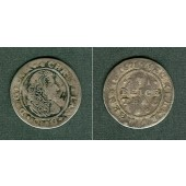 Mecklenburg Schwerin 1/16 Taler 1678  ss  selten!