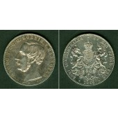 Hannover 2 Taler / Doppeltaler 1866 B  f.vz  selten
