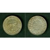 Anhalt Bernburg 1/6 Taler 1861 A  f.vz  selten