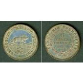 Anhalt Bernburg 1/6 Taler 1862 A  vz
