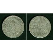 Brandenburg Bayreuth 20 Kreuzer 1764  f.ss