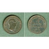 Hannover 1/12 Taler 1840 S  ss  selten