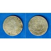 Jülich Berg 1/6 Taler 1715 NP  f.ss  selten