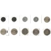 Lot:  ÖSTERREICH  10x  Münzen  [1965-1990]