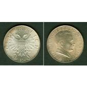 Österreich 2 Schilling E. DOLLFUSS 1934  vz-st