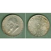 Österreich 2 Schilling BILLROTH 1929  vz-st