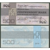 DDR: Forum-Scheck 500 MARK 1979  Ro.373a  I