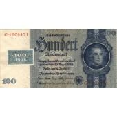 DDR: 100 DEUTSCHE MARK 1948  Kuponausgabe  Ro.338c  I