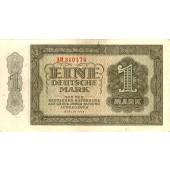 DDR: 1 DEUTSCHE MARK 1948  Ro.340b  II