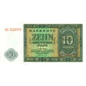 DDR: 10 DEUTSCHE MARK 1948  Ro.343d  I