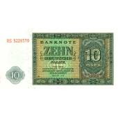DDR: 10 DEUTSCHE MARK 1948  Ro.343d  I